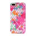 저렴한 아이폰 케이스-케이스 제품 Apple iPhone X / iPhone 8 반투명 / 패턴 뒷면 커버 기하학 패턴 하드 PC 용 iPhone X / iPhone 8 Plus / iPhone 8