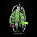 Χαμηλού Κόστους Διακοσμήσεις Ενυδρίων-Διακόσμηση Ενυδρείου Υδρόβιο φυτό Φωτίζει Σιλικόνη