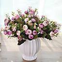 tanie Sztuczne kwiaty-Sztuczne Kwiaty 1 Gałąź Pasterski Styl Camellia Bukiety na stół