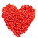 hesapli Yapay Çiçekler-Yapay Çiçekler 50 şube Modern / Çağdaş Güller Masaüstü Çiçeği