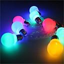 hesapli Duvar Işıkları-3M Dizili Işıklar 20 LED'ler Sıcak Beyaz / Çok Renkli Basit Pil 1pc