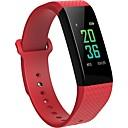 hesapli Araba Şarj Aletleri-Akıllı Bilezik B12 for iOS / Android Kan Basıncı Ölçümü / Adım Sayaçları / Yakılan Kaloriler / Dokunmatik Ekran / Egzersiz Kaydı Darbe Tracker / Pedometre / Arama Hatırlatıcı / Aktivite Takipçisi