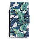 baratos Capinhas para iPhone-Capinha Para Samsung Galaxy J7 (2017) J5 (2017) Porta-Cartão Carteira Com Suporte Flip Estampada Capa Proteção Completa Árvore Rígida PU
