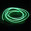 hesapli LED Şerit Işıklar-BRELONG® 5m Dizili Işıklar 0 LED'ler EL Beyaz / Kırmızı / Mavi Su Geçirmez / Kendinden Yapışkanlı / Neon Elektrominesans Tel 1pc