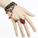 preiswerte Armbänder-Damen Kristall Ring-Armbänder - Krystall Blume Rockig, Elegant Armbänder Violett / Rot Für Party Bühne