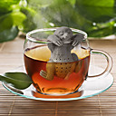 abordables Accessoires à Thé-arbre à loutre de silicone infuseur à thé