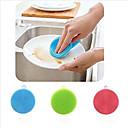 hesapli Pişirme Aletleri ve Kap-Kacaklar-Yüksek kalite 1pc Silikon Temizlik Fırçası ve Bezi Katlanabilir Çok-Fonksiyonlu, Mutfak Temizlik malzemeleri