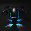 Недорогие Другие радиоуправляемые игрушки-RC Дрон FQ777 FQ28 4 канала 6 Oси 2.4G / WIFI С HD-камерой 2.0MP 1280P*720P Квадкоптер на пульте управления Светодиодные фонарики /