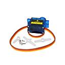 abordables Détecteurs-1pcs keyestudio mini 9g servo moteur 23 * 12.2 * 29mm bleu pour robot arduino