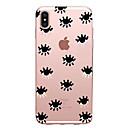 baratos Capinhas para iPhone-Capinha Para Apple iPhone X iPhone 8 iPhone 6 iPhone 7 Plus iPhone 7 Ultra-Fina Estampada Capa traseira Azulejo Macia TPU para iPhone X
