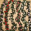 hesapli Küpeler-Yapay Çiçekler 1 şube Modern Stil / Düğün Güller / Bitkiler Masaüstü Çiçeği