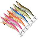 رخيصةأون خواتم-6 pcs خدع الصيد أدوات الصيد طعم صيد جامد جمبري بلاستيك الغرق الصيد البحري طعم الاسماك إغراء الصيد