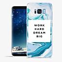 tanie Naszyjniki-Kılıf Na Samsung Galaxy S8 Plus S8 Wzór Czarne etui Napis Marmur Miękkie TPU na S8 Plus S8 S7 edge S7 S6 edge plus S6 edge S6