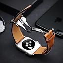ieftine Seturi Șurubelnițe & Șurubelnițe-Uita-Band pentru Apple Watch Series 3 / 2 / 1 Apple Butterfly Cataramă Piele Autentică Curea de Încheietură