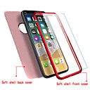 cheap iPhone Cases-Case For Apple iPhone X iPhone 8 Ultra-thin Full Body Cases Solid Color Soft TPU for iPhone X iPhone 8 Plus iPhone 8 iPhone 7 Plus iPhone