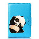 cheap Tablet Cases-Case For Full Body Cases Tablet Cases Panda Hard PU Leather for