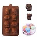 billige Skjermbeskyttere til tabletter-Bakeware verktøy silica Gel baking Tool 3D Bursdag Til Småkake Til Sjokolade Til Kake Kakekuttere 1pc
