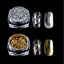 ieftine Machiaj & Îngrijire Unghii-1 pcs Pudră / Pulbere cu sclipici / Glitter de unghii Clasic Nail Art Design Zilnic