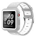 Χαμηλού Κόστους Μπρασελέ για ρολόγια Apple-Παρακολουθήστε Band για Apple Watch Series 3 / 2 / 1 Apple Αθλητικό Μπρασελέ σιλικόνη Λουράκι Καρπού
