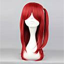 cheap Makeup & Nail Care-Men's Women's 24 inch Heat Resistant Fiber Red Anime Cosplay Wigs / Princess Lolita