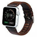 저렴한 애플 시계 밴드-시계 밴드 용 Apple Watch Series 4/3/2/1 Apple 모던 버클 가죽 손목 스트랩