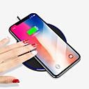 baratos Capinhas para Galaxy Série S-Carregador Sem Fios Carregador USB USB Carregador Sem Fios / Qi 1 Porta USB 1 A iPhone 8 Plus / iPhone 8 / S8
