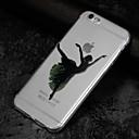 저렴한 아이폰 케이스-케이스 제품 Apple iPhone X iPhone 8 투명 패턴 뒷면 커버 섹시 레이디 소프트 TPU 용 iPhone X iPhone 8 Plus iPhone 8 iPhone 7 Plus iPhone 7 iPhone 6s Plus iPhone
