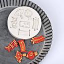 hesapli Fırın Araçları ve Gereçleri-Bakeware araçları Silika Jel Tatil / Doğum Dünü / Yeni Yıl'ınkiler Candy Yuvarlak 1pc