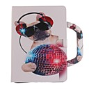 cheap iPad  Cases / Covers-Case For Apple iPad Air 2 / iPad (2017) Card Holder / with Stand / Pattern Full Body Cases Dog Hard PU Leather for iPad Air / iPad 4/3/2 / iPad (2018) / iPad Pro 10.5
