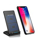 Недорогие Аксессуары для PS3-Беспроводное зарядное устройство Зарядное устройство USB USB Беспроводное зарядное устройство / Автоматическая регуляция силы тока / Быстрая зарядка 1 USB порт 2 A DC 9V для iPhone 8 Pluss / iPhone 8