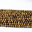 olcso Gyöngyök és ékszerkészítés-DIY ékszerek 65 db Perlice Kristály Sárga Kör üveggyöngy 0.6 cm DIY Nyakláncok Karkötők