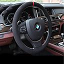 رخيصةأون أكواب-أغطية إطارات القيادة جلد أصلي أسود من أجل BMW X3 / X5 / 3 سلسلة كل السنوات