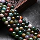 ieftine Mărgele-DIY bijuterii 48 buc Χάντρες Agat Curcubeu Rotund Forma U Şirag de mărgele 0.8 cm DIY Coliere Brățări