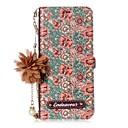 رخيصةأون حافظات / جرابات هواتف جالكسي S-غطاء من أجل Samsung Galaxy S8 Plus / S8 / S7 edge حامل البطاقات / مع حامل / قلب غطاء كامل للجسم زهور قاسي جلد PU
