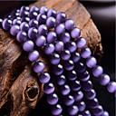 voordelige Nagelstempels-DIY sieraden 46 stk kralen Synthetische Edelstenen Paars Rond Kraal 0.8 cm DIY Kettingen Armbanden
