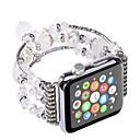 hesapli Apple Watch Kordonları-Watch Band için Apple Watch Series 3 / 2 / 1 Apple Takı Tasarımları Seramik Bilek Askısı