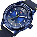 ieftine Cercei-MINI FOCUS Bărbați Ceas Sport Japoneză Quartz Calendar Iluminat Ceas Casual Nailon Bandă Analog Casual Modă Negru / Albastru / Maro - Maro Verde Albastru / Mare Dial