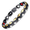 cheap Men's Watches-Men's Chain Bracelet Hologram Bracelet Magnetic Bracelet - Bracelet Black For Causal Daily