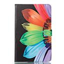 Недорогие Чехлы и кейсы для Samsung Tab-Кейс для Назначение SSamsung Galaxy Tab A 10.1 (2016) Кошелек / со стендом / Флип Чехол Цветы Твердый Кожа PU для Tab A 10.1 (2016)