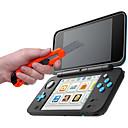 hesapli Nintendo 3DS Aksesuarları-new 2DSLL Çantalar,Kılıflar ve Deriler - Nintendo DS Şeffaf Darbeye Kılıf > 480