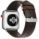 hesapli Mac Stickerlar-Watch Band için Apple Watch Series 3 / 2 / 1 Apple Modern Toka Gerçek Deri Bilek Askısı