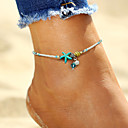cheap Brooches-Anklet - Imitation Pearl Starfish, Shell Bohemian, Fashion, Boho White For Holiday Bikini Women's