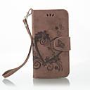 halpa Nokia kotelot / kuoret-Etui Käyttötarkoitus Nokia Lumia 650 Lumia 640 Korttikotelo Lomapkko Tuella Flip Koristeltu Suojakuori Yhtenäinen väri Perhonen Kova