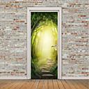 رخيصةأون ملصقات ديكور-مناظر طبيعية حياة هادئة ملصقات الحائط لواصق حائط الطائرة لواصق لواصق حائط مزخرفة ملصقات الباب, الفينيل تصميم ديكور المنزل جدار مائي زجاج