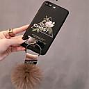 رخيصةأون أقراط-غطاء من أجل Apple iPhone X / iPhone 8 Plus / iPhone 8 نموذج غطاء خلفي زهور ناعم سيليكون