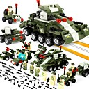cheap Display Models-BEIQI Building Blocks Construction Set Toys Educational Toy 484 pcs Military compatible Legoing Stress and Anxiety Relief Decompression Toys Parent-Child Interaction Classic & Timeless Military