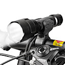cheap Bike Lights-LED Flashlights / Torch / Front Bike Light / Headlight LED Bike Light Cycling Adjustable Focus, Multiple Modes 18650 Battery Camping / Hiking / Caving / Everyday Use / Cycling / Bike - WEST BIKING®