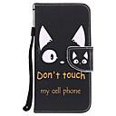 رخيصةأون Sony أغطية / كفرات-غطاء من أجل Huawei P10 Plus / P8 ليت (2017) محفظة / حامل البطاقات / مع حامل غطاء كامل للجسم قطة / جملة / كلمة قاسي جلد PU إلى P10 Plus / P10 Lite / P10