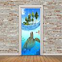 halpa Sisustustarrat-Eläimet Laiva Wall Tarrat Lentokone-seinätarrat 3D-seinätarrat Koriste-seinätarrat Valokuvatarrat Lattia-tarrat Ovi-tarrat, Vinyyli