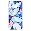hesapli iPhone Kılıfları-Pouzdro Uyumluluk Huawei P9 P8 Lite (2017) Temalı Arka Kapak Kelebek Çiçek Yumuşak TPU için Huawei P9 Lite Huawei P9 P8 Lite (2017)
